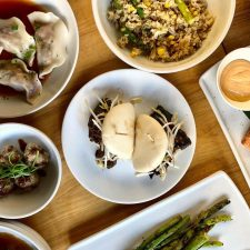 Summer Dim Sum menu at Soba